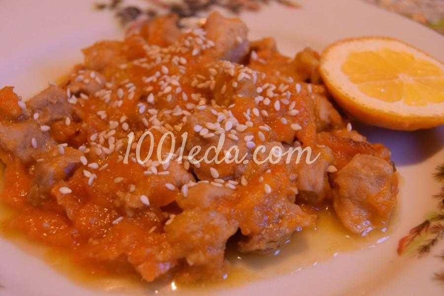 Свинина, запеченная с апельсинами в духовке - пошаговый рецепт