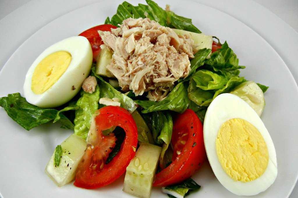 Как приготовить салат с тунцом в лодочках из эндивия: поиск по ингредиентам, советы, отзывы, пошаговые фото, подсчет калорий, удобная печать, изменение порций, похожие рецепты