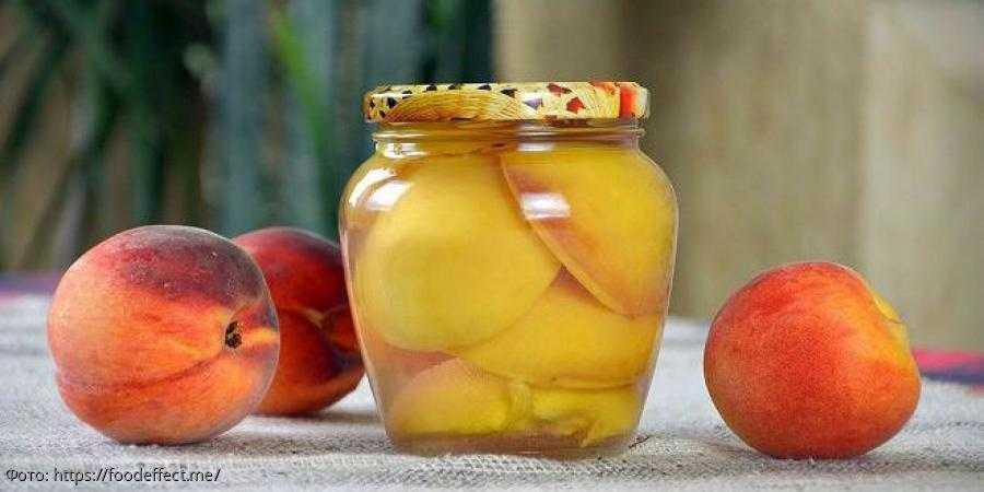 Компот из персиков на зиму без стерилизации - особенности приготовления, лучшие рецепты и отзывы