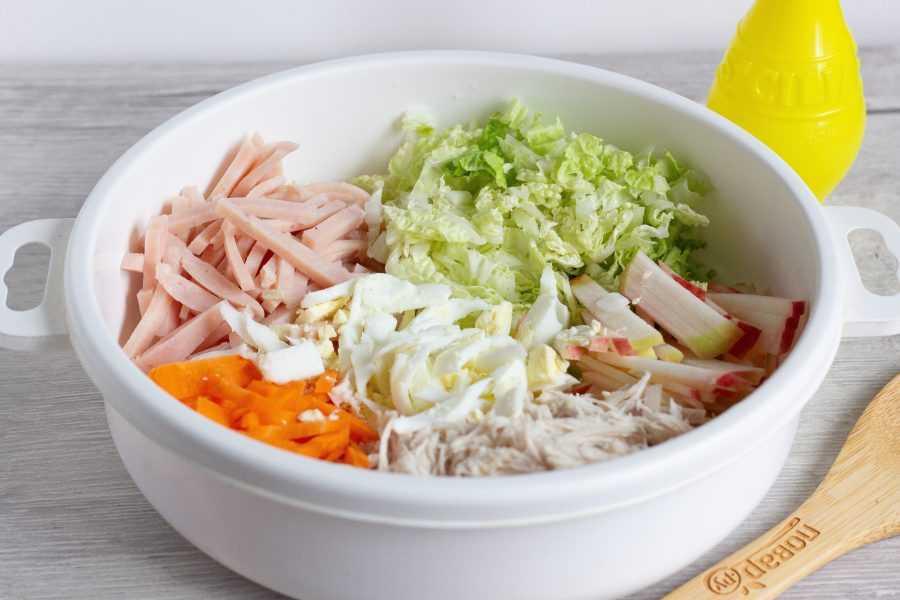 Гнездо перепёлки салат рецепт с фото пошагово и видео - 1000.menu