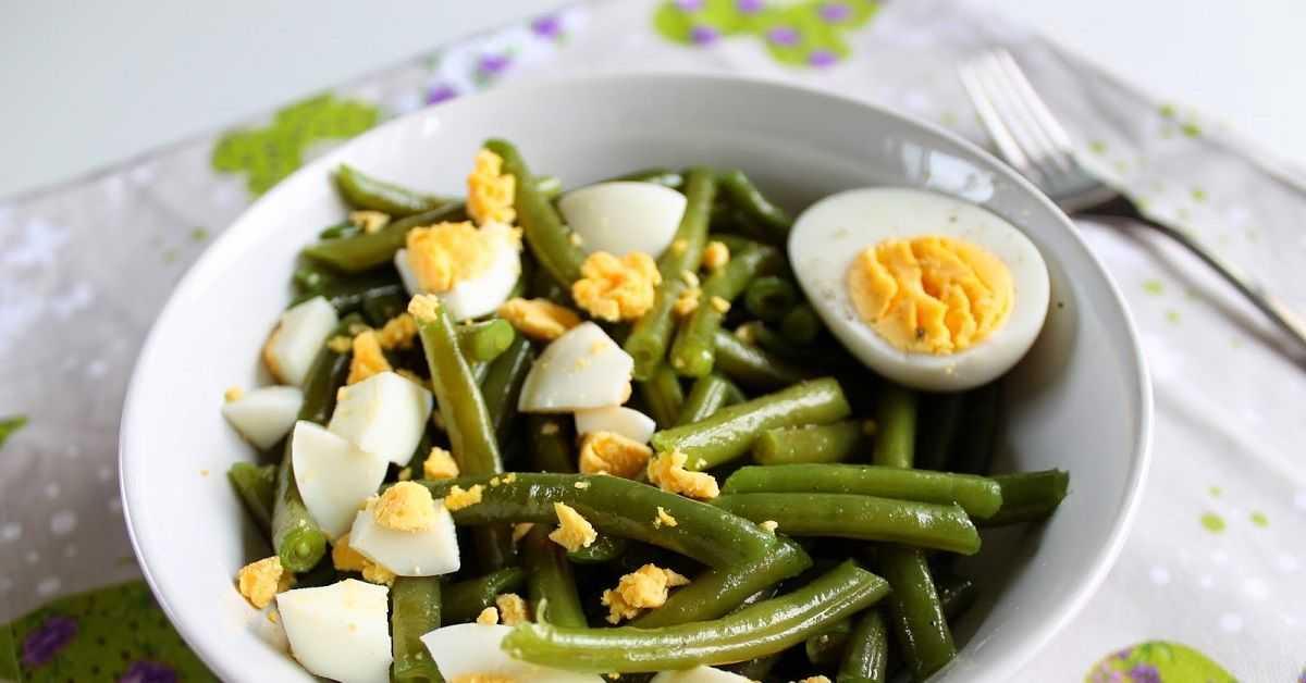 Как приготовить стручковую фасоль с яйцом: вкусные закуски