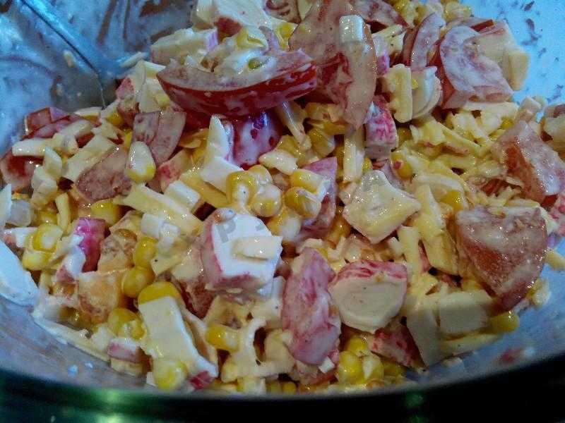 Новогодние рецепты с крабовыми палочками - 68 рецептов приготовления пошагово - 1000.menu