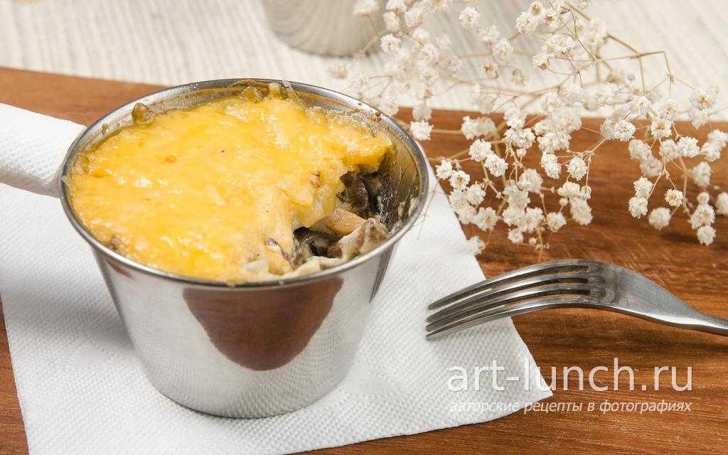 Рецепты жульенов из лесных грибов: фото грибных жульенов и рецепты приготовления