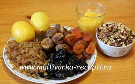 Курага, изюм, орехи, мед, лимон для иммунитета. рецепт как приготовить смесь