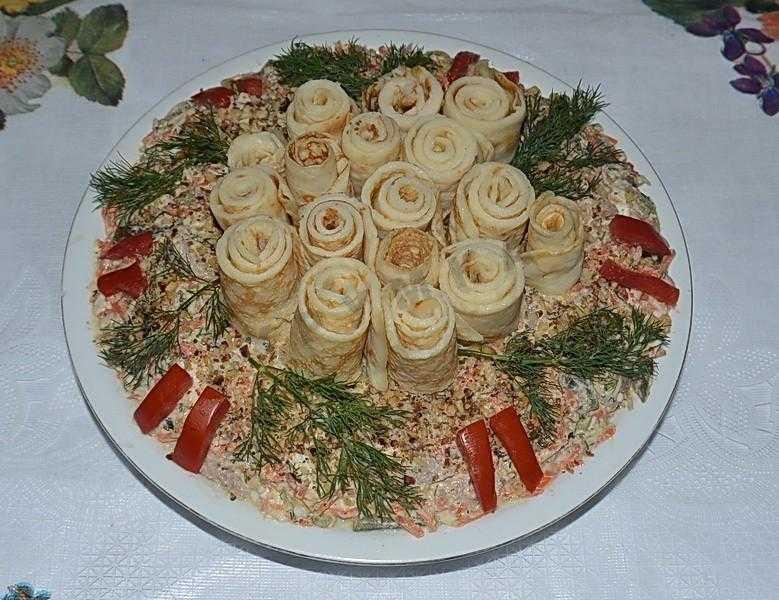 Салат кояш простой домашний рецепт пошагово с фото