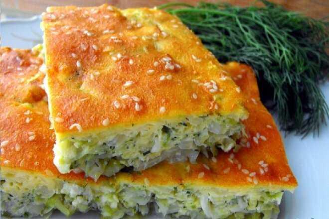 Пирог с капустой и курицей – 9 рецептов