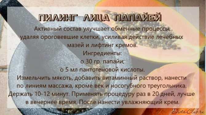 Сок папайи: польза, вред, состав, рецепты