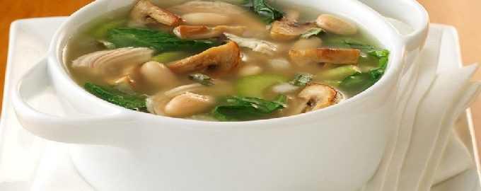 Грибной суп с курицей из шампиньонов рецепт с фото пошагово - 1000.menu