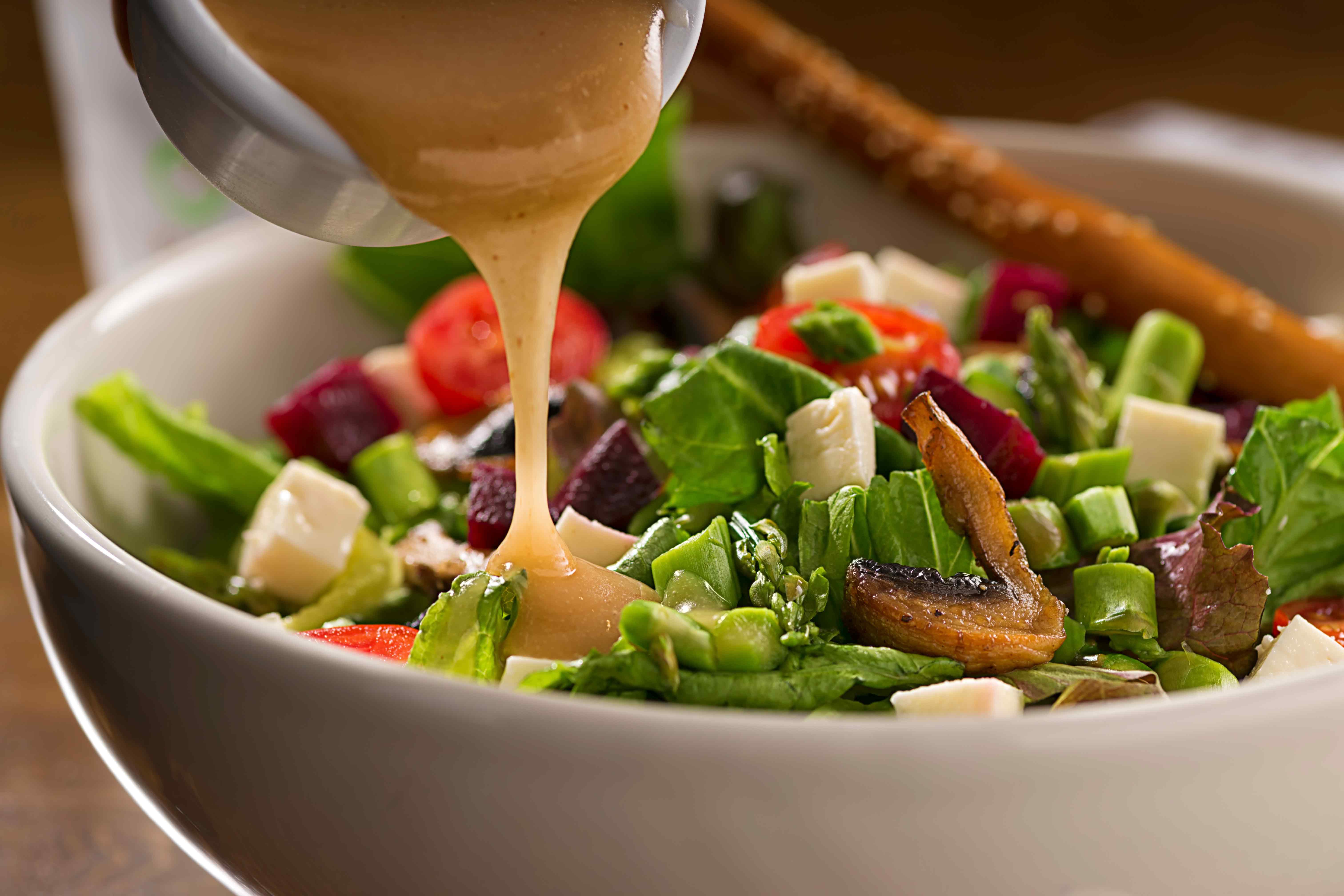 Пп заправки и соусы для салатов + диетические рецепты