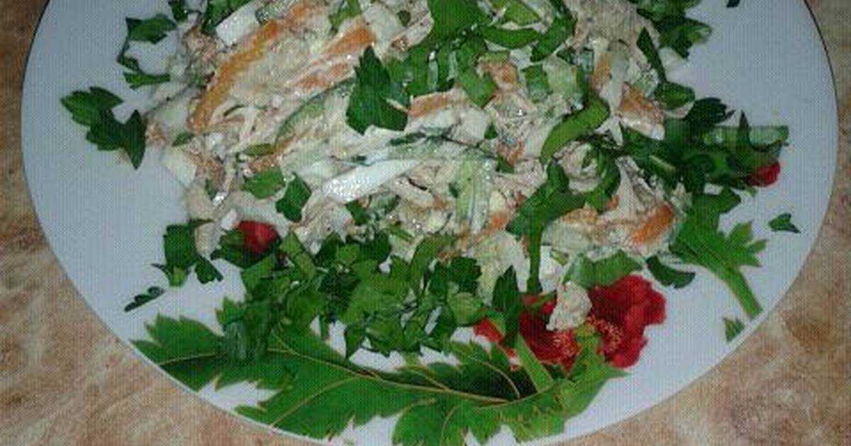 Традиции чехии: салат с говядиной и болгарским перцем «пражский»