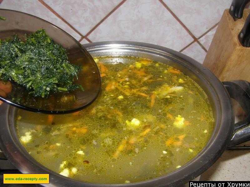 Зеленый борщ со щавелем и яйцом - пошаговый рецепт с фото