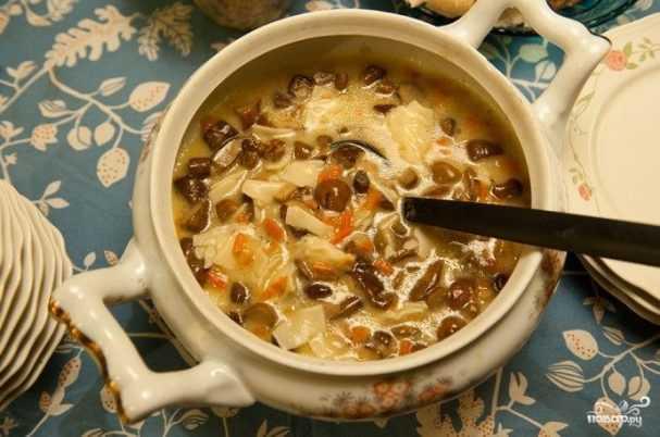 В японском стиле: суп из шиитаке