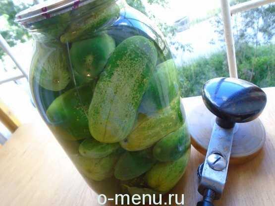 Рецепт маринованных огурцов на зиму с семенами горчицы: пошагово с фото