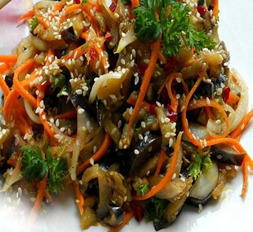 Салат орхидея - аппетитная мясная закуска с остренькой корейской морковкой: рецепты с фото и видео
