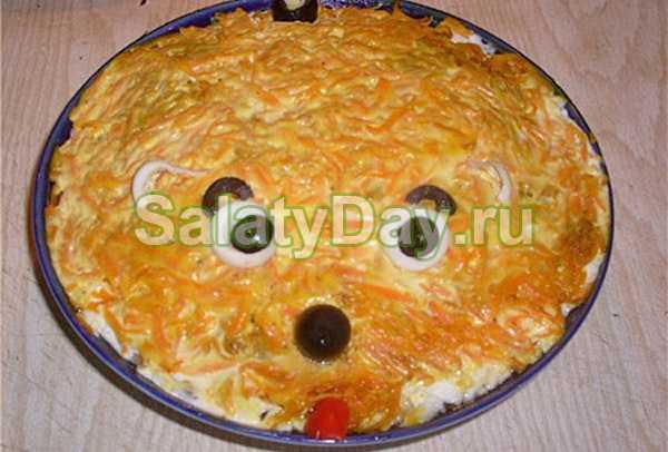 """Салат """"лисья шуба"""" с грибами пошаговый рецепт с фото фоторецепт.ru"""