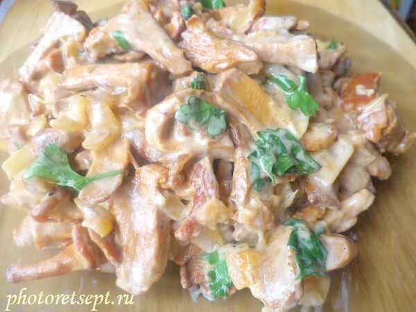 Филе индейки в сметанном соусе – 9 рецептов