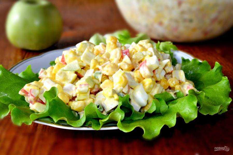 Салат с курицей и яйцом: 7 фото-рецептов