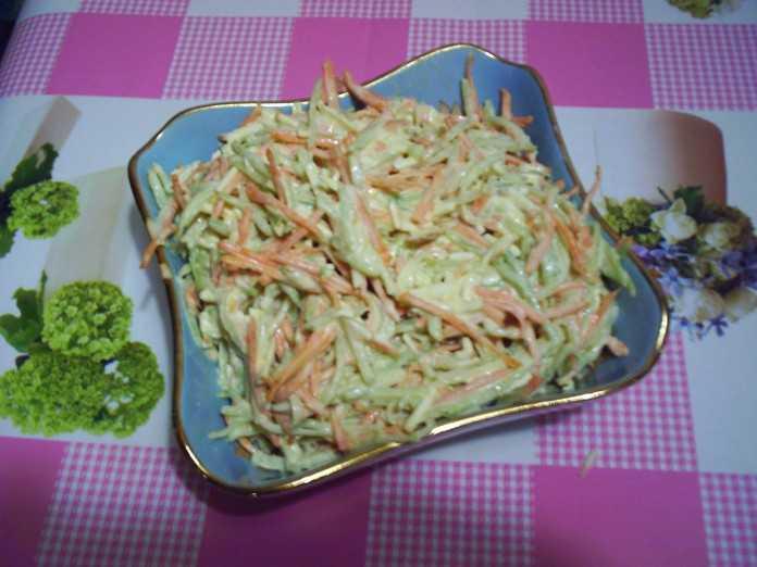 Салат из маргеланской редьки - 7 пошаговых фото в рецепте