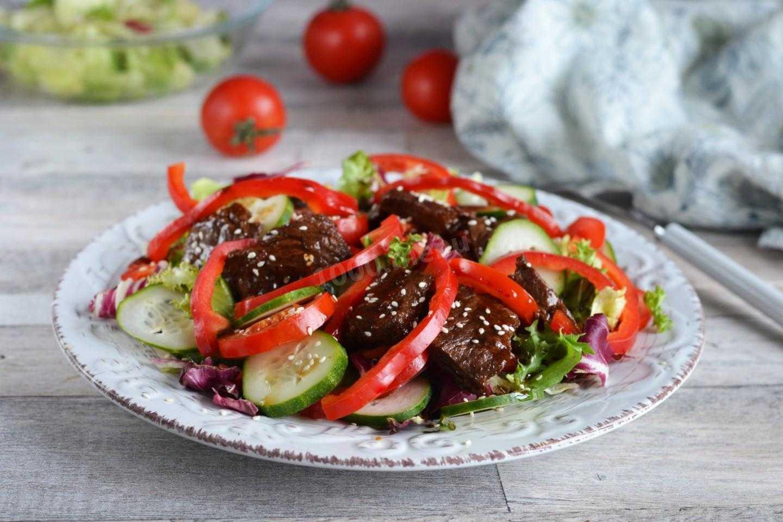 Салат мясной классический