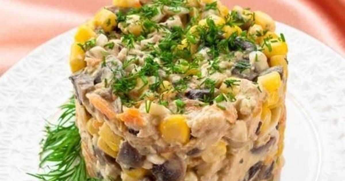 Салат мадемуазель с курицей ананасами и свежими огурцами рецепт с фото и видео - 1000.menu
