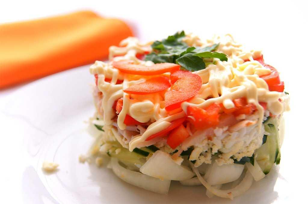 Рецепты салат с кальмарами