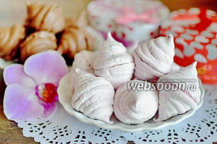 Зефир из черной смородины -пошаговый рецепт с фото