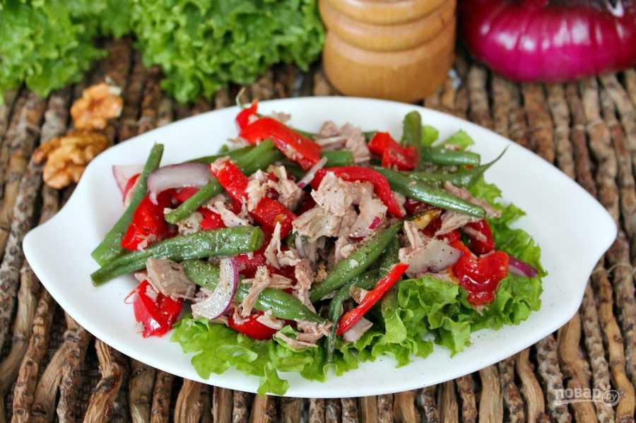 Салат с говядиной — простые рецепты очень вкусного мясного салата