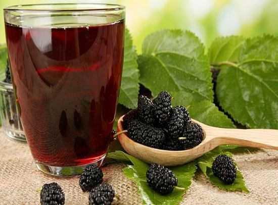 Шелковица: пищевая ценность ягод | food and health