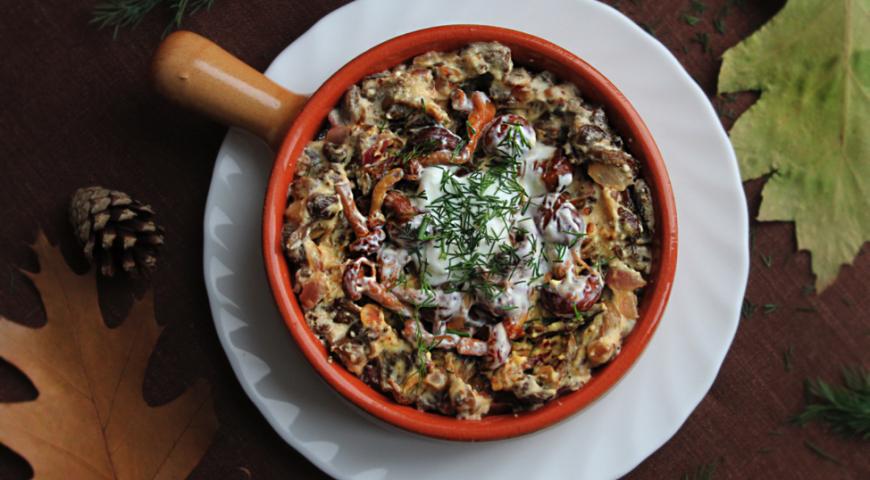 Грибной соус с шампиньонами – изысканное дополнение простых блюд