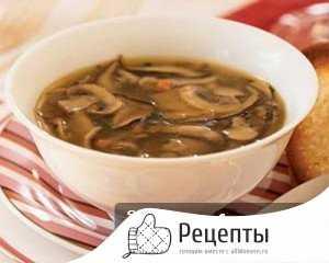 Простые рецепты супа из свежих грибов подберёзовиков