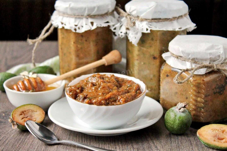 Паста из фейхоа с медом: рецепт с фото без варки
