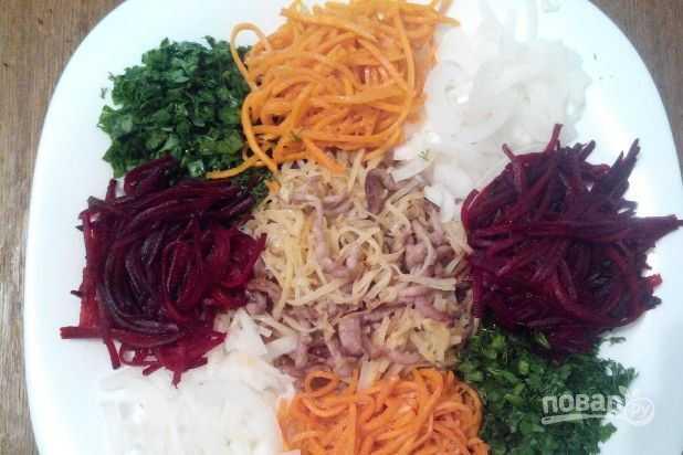 Приготовление салата «чафан»: самые вкусные и доступные рецепты пошагово