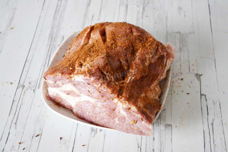 Буженина из свинины в рукаве в духовке рецепт с фото - 1000.menu