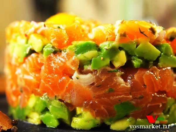 Различные рецепты тартара с лососем