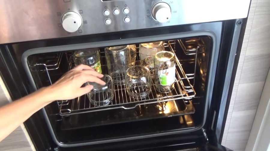 Стерилизация банок в духовке газовой плиты: как стерилизовать, за какое время, принципы, что потребуется