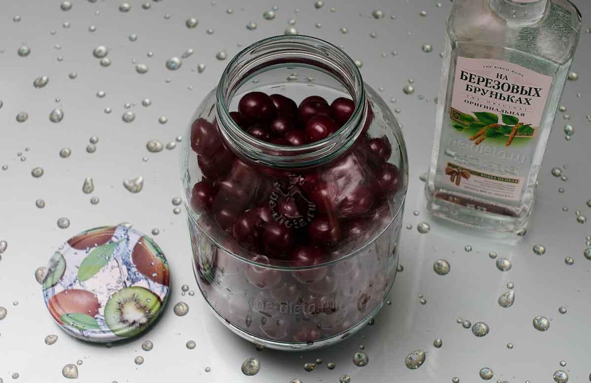 Наливка из вишни в домашних условиях, рецепты приготовления на водке