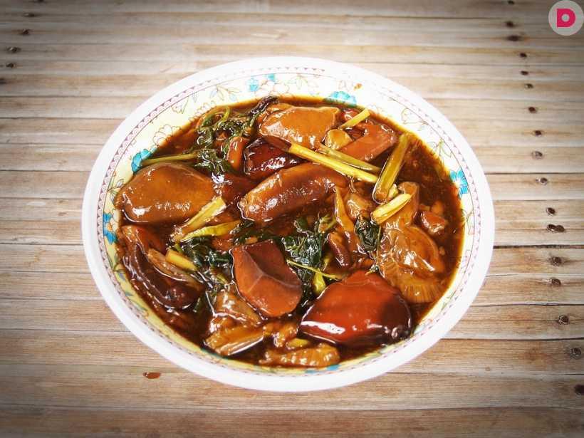 Грибной суп–пюре из белых замороженных грибов