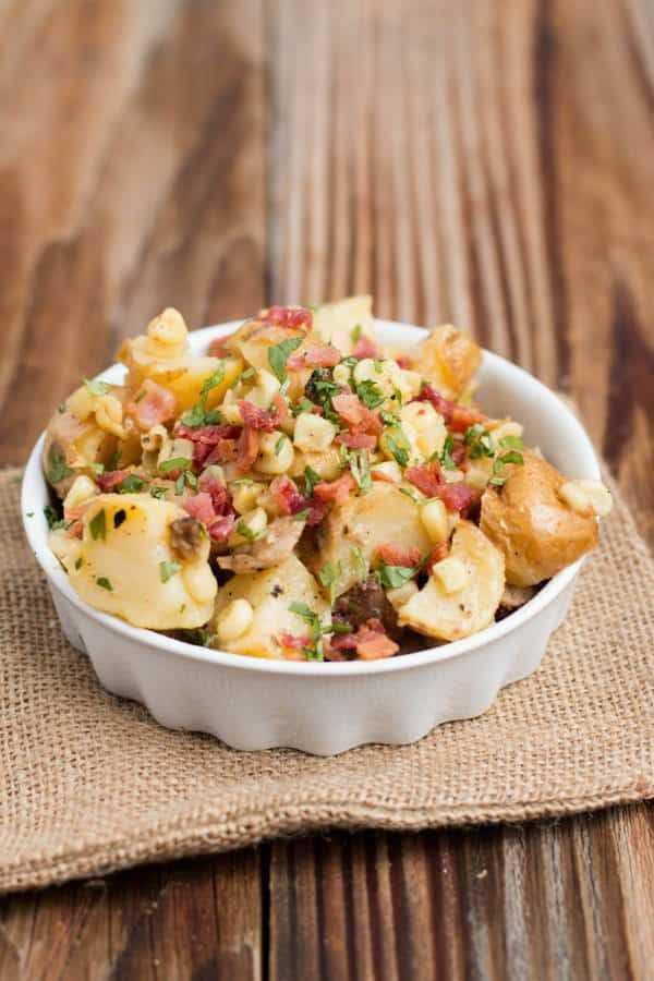 Рецепт американского картофельного салата | меню недели