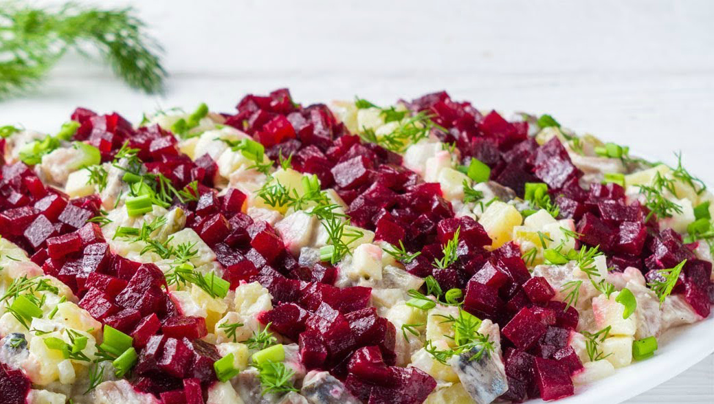 Салат дракон из селедки рецепт с фото пошагово - 1000.menu