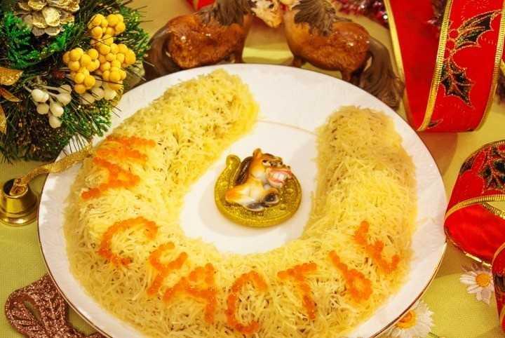 Салат подкова рецепт с фото пошагово и видео - 1000.menu