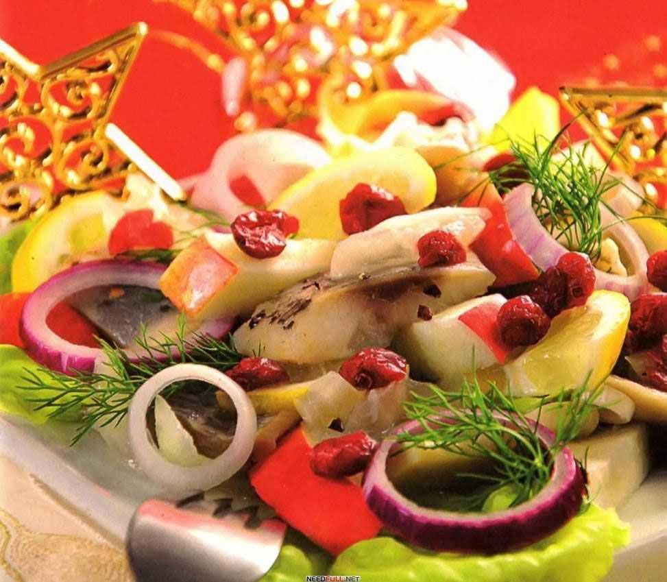 Салат с селедкой. 13 очень вкусных рецептов на праздник и каждый день