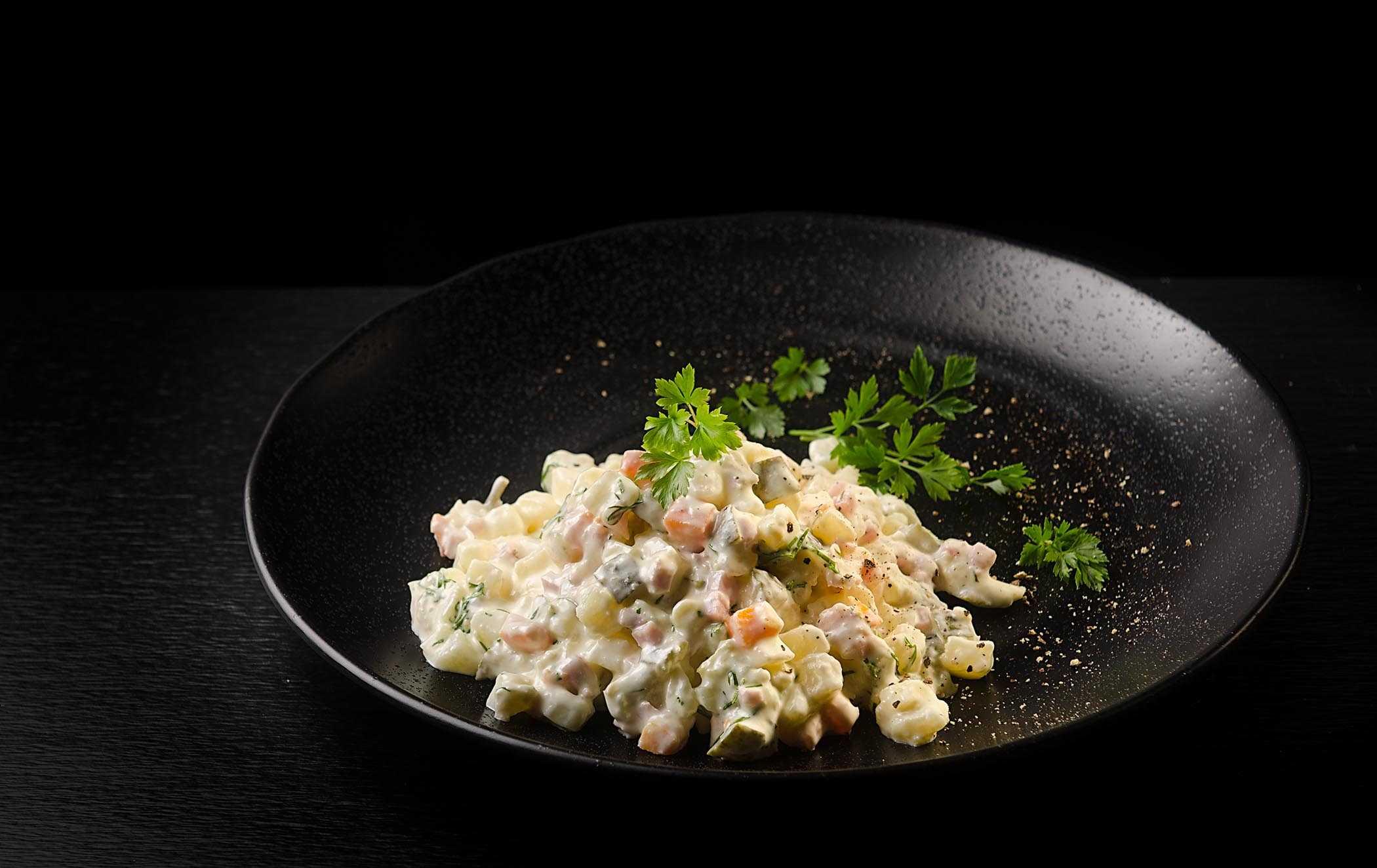 20 отличных салатов с ветчиной на любой вкус и бюджет