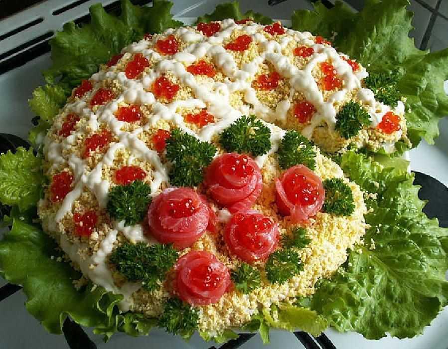 Простые салаты на день рождения