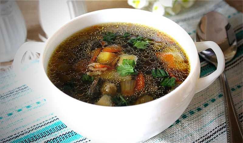 Готовим вкуснейший суп из подберезовиков