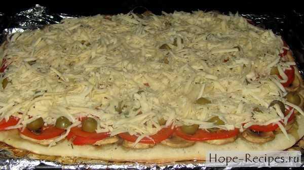 Пицца с шампиньонами: варианты теста, начинка, наиболее подходящий соус
