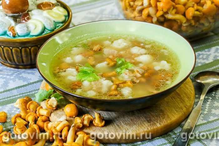 Грибные супы, 332 рецепта, фото-рецепты, страница 3 / готовим.ру
