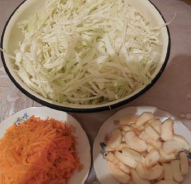 Квашеная капуста без уксуса быстрого приготовления