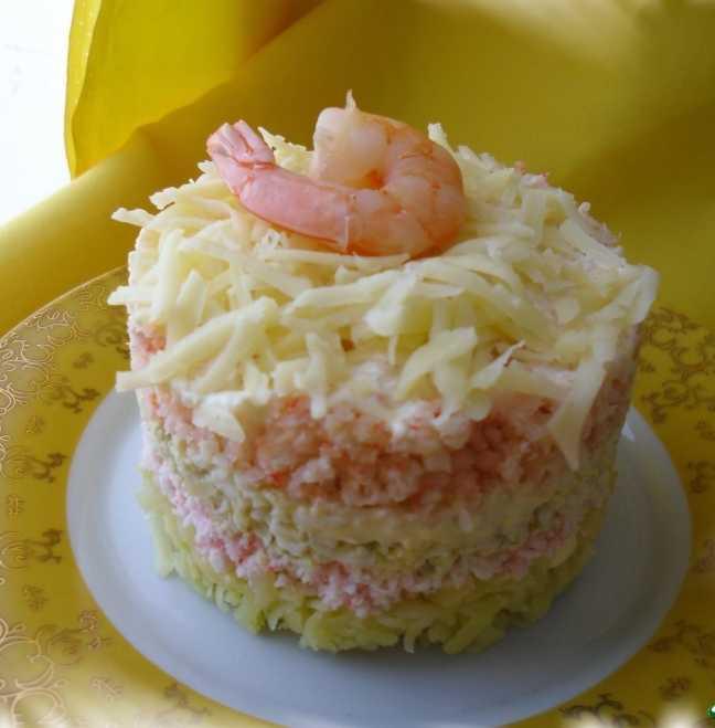 Салат с сельдереем и креветками - 99 рецептов: салаты   foodini