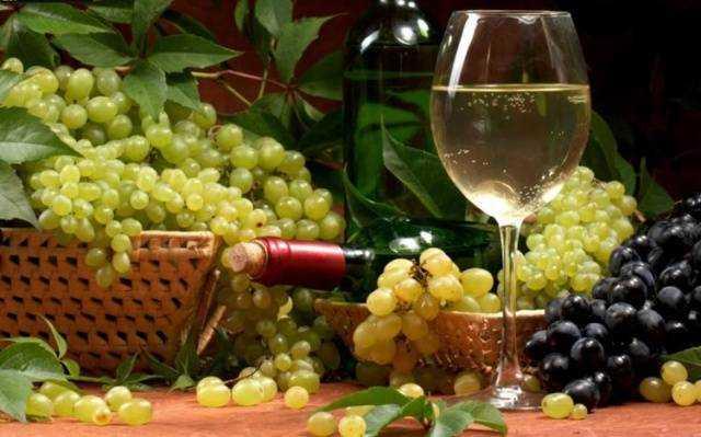 Рецепты приготовления вина из виноградных листьев