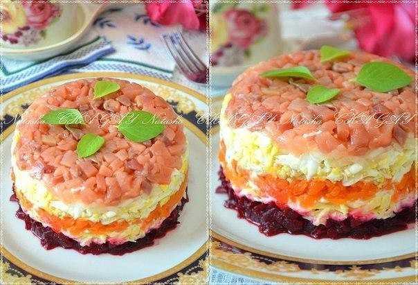 Салат шуба с семгой — правильные рецепты. быстро и вкусно готовим салат шуба с семгой.